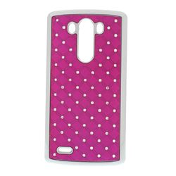 Starry Sky Rhinestone Hard Case for LG G3 D850 D855 LS990 - Rose