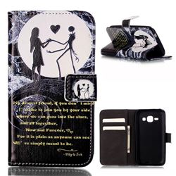 Moon Lovers Leather Wallet Case for Samsung Galaxy Core Prime G360 G360V G360P G360F G360H