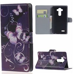 Beautiful Butterfly Pattern Leather Case for LG G4 H810 VS999 F500
