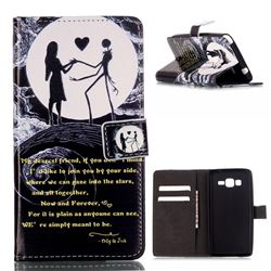 Moon Lovers Leather Wallet Case for Samsung Galaxy Grand Prime G530 G530H