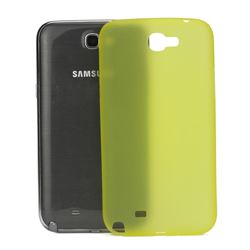 Frosted Ultra-Thin 0.4mm Hard Case for Samsung Galaxy Note 2 / Note II N7100 Case - Yellow