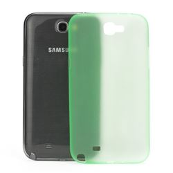 Frosted Ultra-Thin 0.4mm Hard Case for Samsung Galaxy Note 2 / Note II N7100 Case - Green