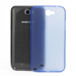 Frosted Ultra-Thin 0.4mm Hard Case for Samsung Galaxy Note 2 / Note II N7100 Case - Blue