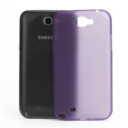 Frosted Ultra-Thin 0.4mm Hard Case for Samsung Galaxy Note 2 / Note II N7100 Case - Purple