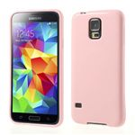 Jelly Pudding TPU Gel Case for Samsung Galaxy S5 G900 - Pink