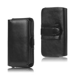 Belt Clip Case Leather Holster Case for Samsung Galaxy S5 G900
