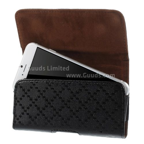 check pattern leather pouch for iphone 6 4 7 inch with
