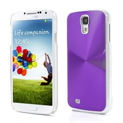CD Veins Aluminium Hard Case for Samsung Galaxy S4 IV i9500 i9505 - Purple