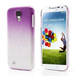 Raindrop Gradient Hard Case for Samsung Galaxy S4 IV i9500 i9505 - Purple