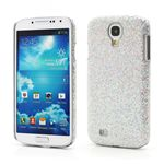 Glittery Sequins Hard Case for Samsung Galaxy S4 i9500 i9505 - Silver