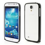Ultra-Thin Premium Aluminium Metal Bumper Case for Samsung Galaxy S4 i9500 i9502 i9505 - Black