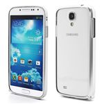 Ultra-Thin Premium Aluminium Metal Bumper Case for Samsung Galaxy S4 i9500 i9502 i9505 - Silver