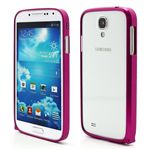 Ultra-Thin Premium Aluminium Metal Bumper Case for Samsung Galaxy S4 i9500 i9502 i9505 - Rose