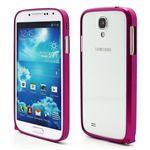 Ultra-Thin Premium Aluminium Metal Bumper Case for Samsung Galaxy S4 i9500 i9502 i9505 - Rose