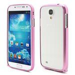 Ultra-Thin Premium Aluminium Metal Bumper Case for Samsung Galaxy S4 i9500 i9502 i9505 - Pink