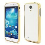 Ultra-Thin Premium Aluminium Metal Bumper Case for Samsung Galaxy S4 i9500 i9502 i9505 - Light Yellow