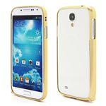 Ultra-Thin Premium Aluminium Metal Bumper Case for Samsung Galaxy S4 i9500 i9502 i9505 - Light Yellow