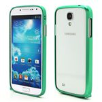 Ultra-Thin Premium Aluminium Metal Bumper Case for Samsung Galaxy S4 i9500 i9502 i9505 - Green