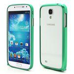 Ultra-Thin Premium Aluminium Metal Bumper Case for Samsung Galaxy S4 i9500 i9502 i9505 - Green