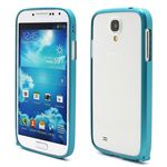 Ultra-Thin Premium Aluminium Metal Bumper Case for Samsung Galaxy S4 i9500 i9502 i9505 - BabyBlue