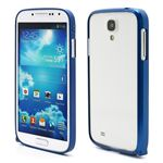 Ultra-Thin Premium Aluminium Metal Bumper Case for Samsung Galaxy S4 i9500 i9502 i9505 - DarkBlue