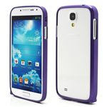 Ultra-Thin Premium Aluminium Metal Bumper Case for Samsung Galaxy S4 i9500 i9502 i9505 - Purple