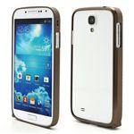 Ultra-Thin Premium Aluminium Metal Bumper Case for Samsung Galaxy S4 i9500 i9502 i9505 - Brown