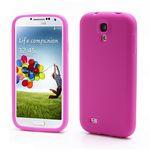 Soft Silicone Skin Case for Samsung Galaxy S 4 IV i9500 i9505 - Rose