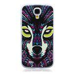 Wolf Totem Painted Ultra Slim TPU Back Cover for Samsung Galaxy S4 i9500 i9505 i9502 i9508