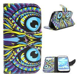 Owl Leather Wallet Case for Samsung Galaxy S4 i9500 i9505 i9508 i9507 i959 i9502