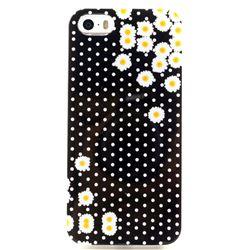 Polka Dot Daisy Soft TPU IMD Case for iPhone 5s / iPhone 5