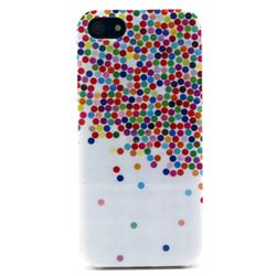 Colorful Polka Dot Soft TPU IMD Case for iPhone 5s / iPhone 5