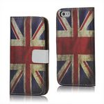 Horizon Retro Union Jack Flag Leather Case for iPhone 5s / iPhone 5