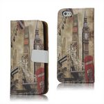 Horizon Big Ben and London Bridge Leather Case for iPhone 5s / iPhone 5