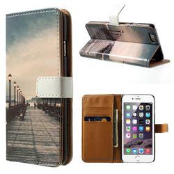 Retro Bridge Leather Wallet Case for iPhone 5s / iPhone 5
