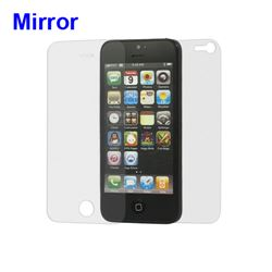 Mirror Front and Back LCD Screen Protector for iPhone 5