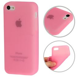 Soft Silicone Case for iPhone 5c - Pink