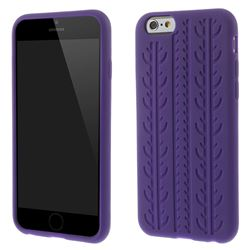 Tyre Silicone Case for iPhone 6 (4.7 inch) - Purple