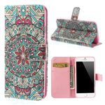Mandala Pattern Leather Cover for iPhone 6 (4.7 inch)