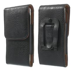 Elephant Skin Vertical Leather Pouch for iPhone 6 (4.7 inch) with Belt Buckle