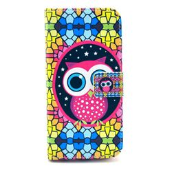 Brilliant Owl Leather Wallet Case for iPhone 6 (4.7 inch)